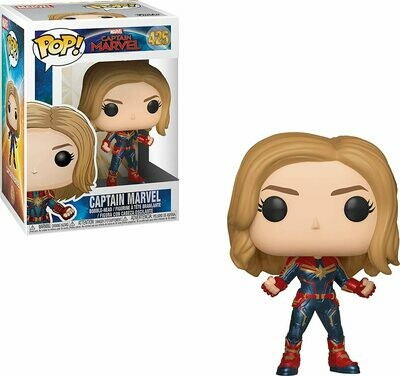 Funko Pop! Marvel: Capitana Marvel