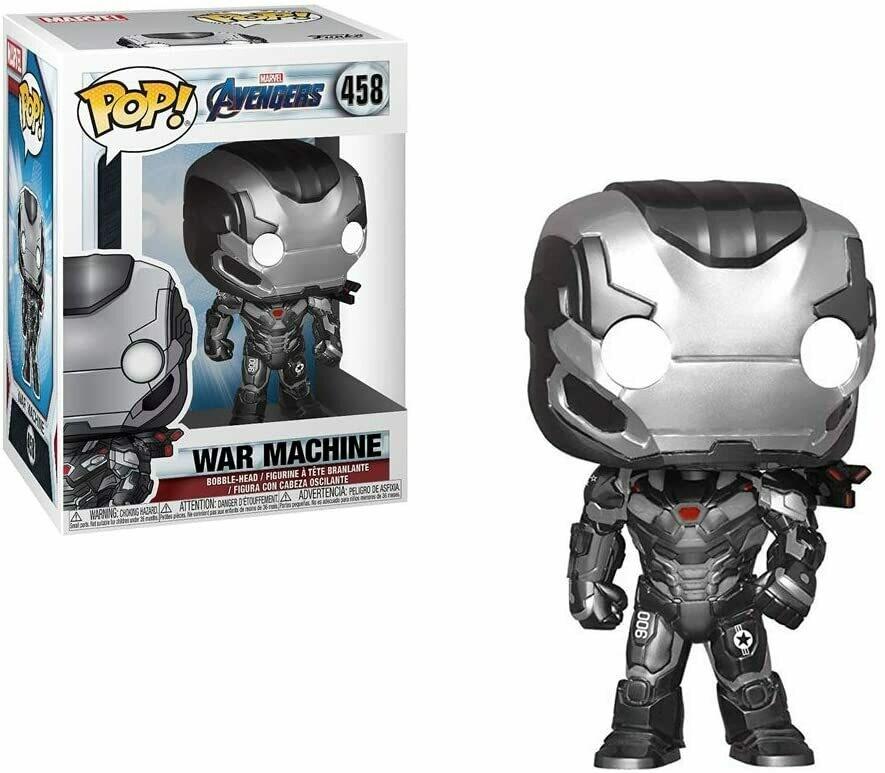 Funko Pop! Marvel: War Machine Avengers Endgame