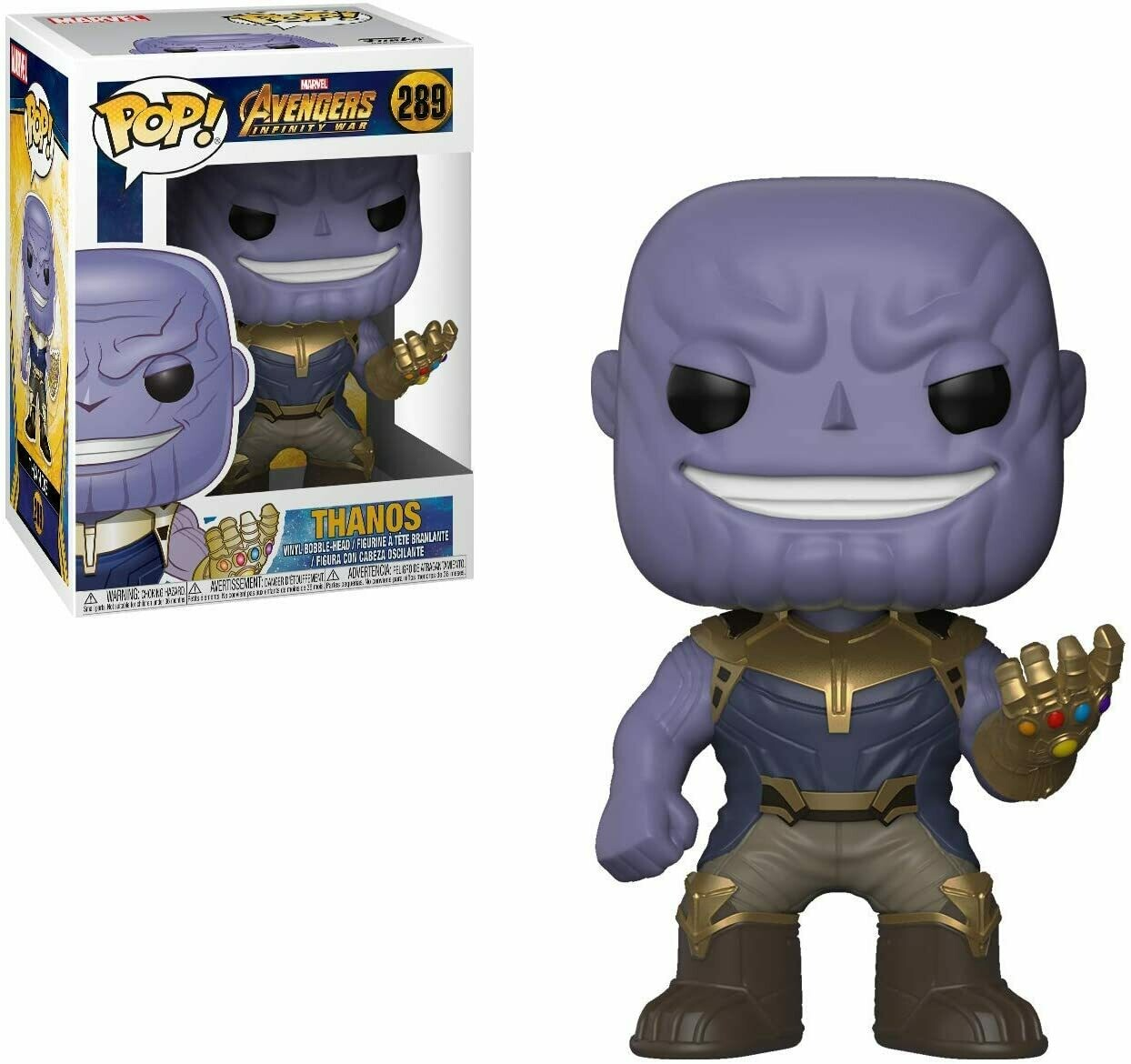Funko Pop! Marvel: Thanos Avengers Infinity War