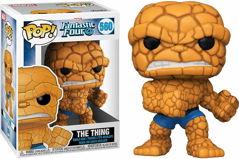 Funko Pop! Marvel: La Mole Los 4 Fantasticos