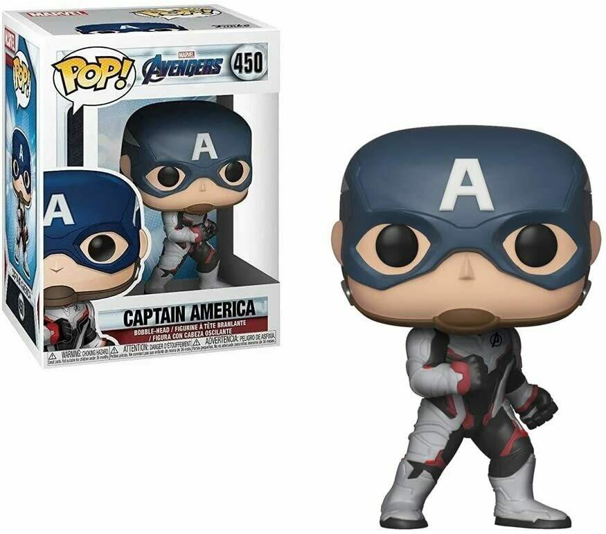 Funko Pop! Marvel: Capitan America Avengers Endgame