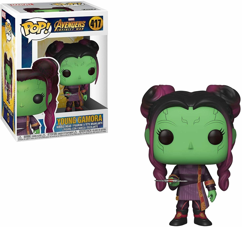 Funko Pop! Marvel: Gamora Niña Avengers Infinity War