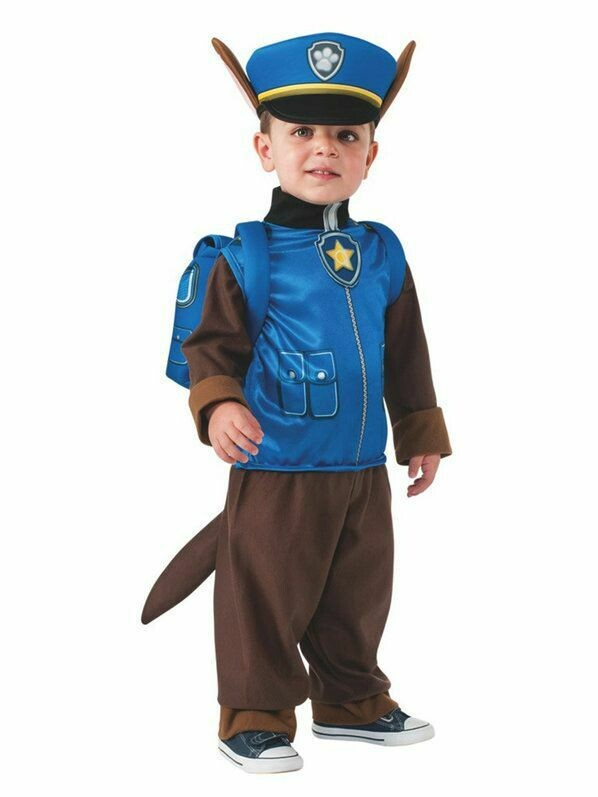 Disfraz Niño Chase Paw Patrol