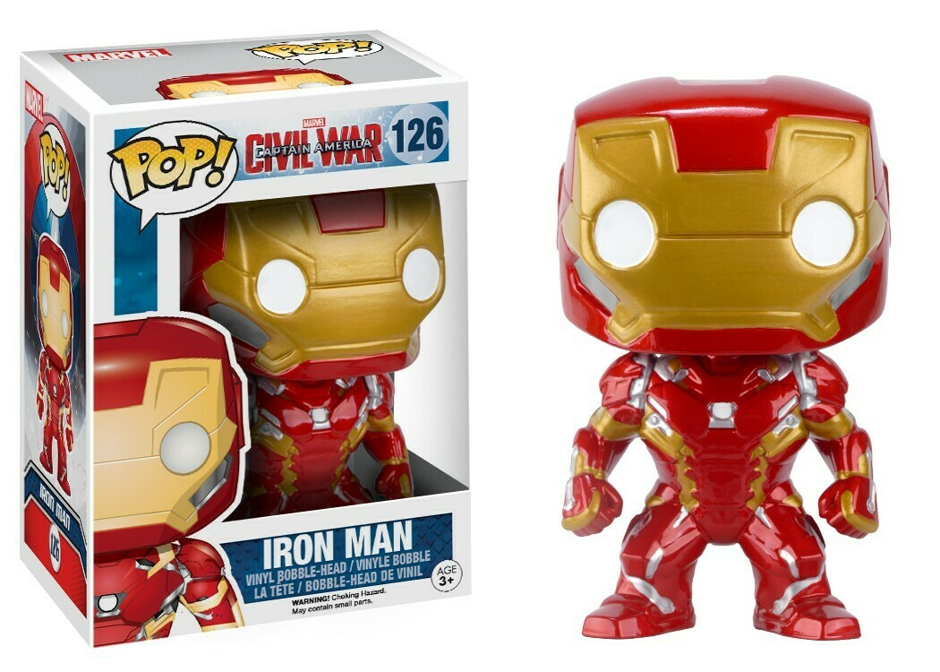 Funko Pop! Marvel: Iron Man Civil War