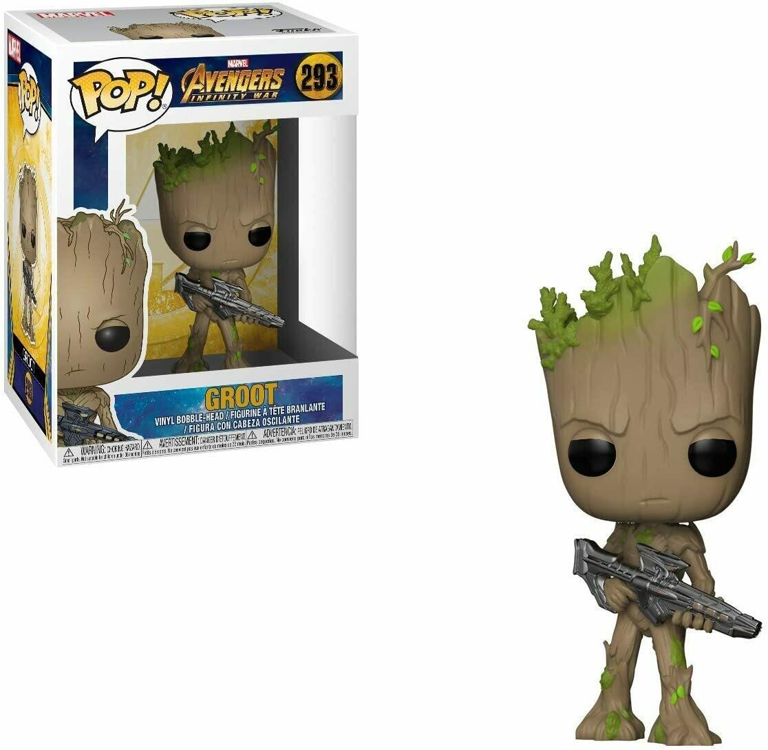 Funko Pop! Marvel: Groot Avengers Infinity War