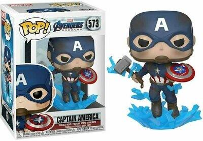 Funko Pop! Marvel: Capitan America 573 Avengers Endgame