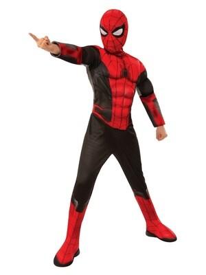 Disfraz Niño Hombre Araña Lejos de Casa con Musculos