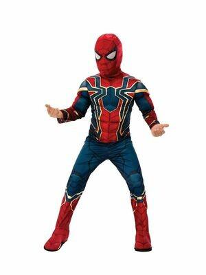 Disfraz Niño Iron Spider Avengers Endgame con Musculos