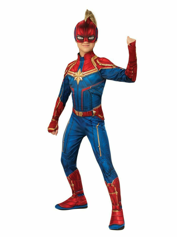 Disfraz de Niña Capitana Marvel
