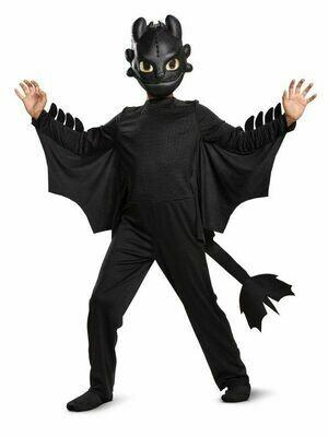 Disfraz Niño Toothless Chimuelo Como entrenar tu Dragón