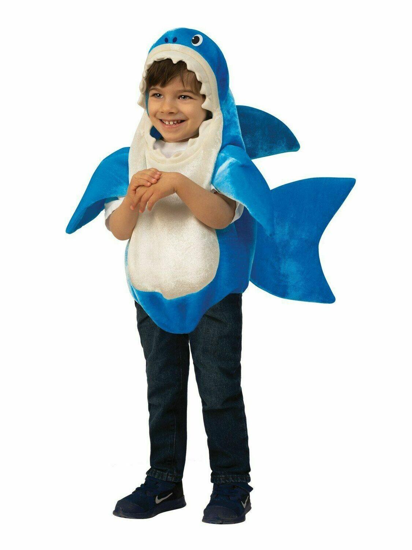 Disfraz Niño Daddy Shark con sonido