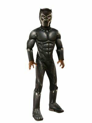 Disfraz Niño Black Panther con Musculos