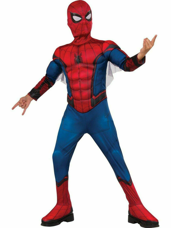 Disfraz Niño Hombre Araña Regreso a Casa con Musculos