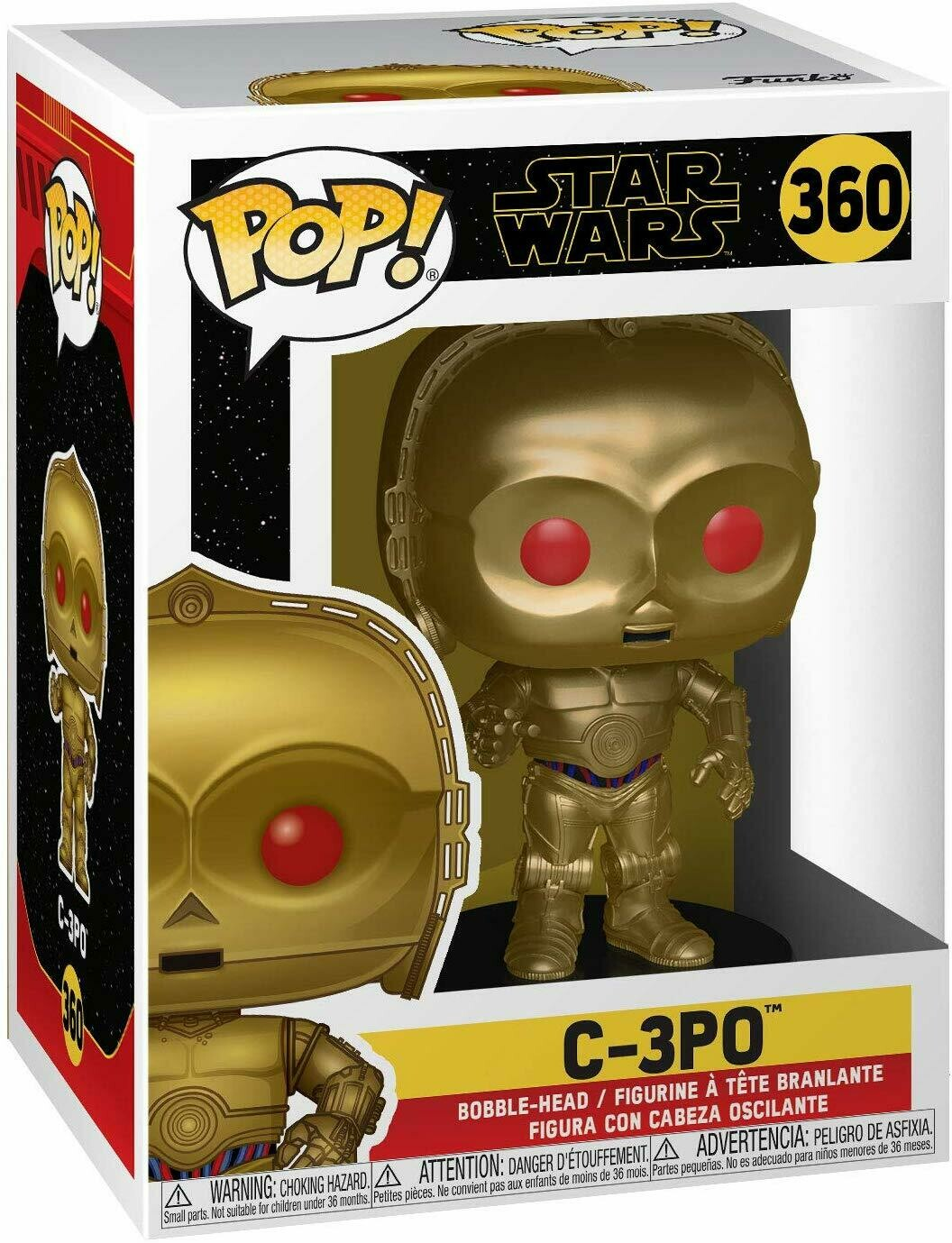 Funko Pop! C3-PO El Ascenso de Skywalker Star Wars
