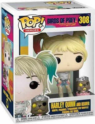 Funko Pop! Harley Quinn & Beaver Birds of Prey