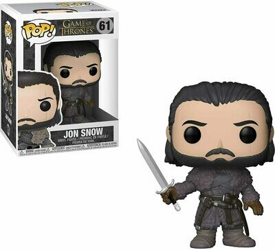 Funko Pop! Jon Snow Beyond the Wall Game of Thrones