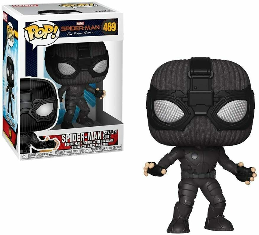 Funko Pop! Spider-man Stealth Suit Lejos de Casa