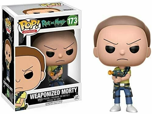 Funko Pop! Weaponized Morty - Rick y Morty