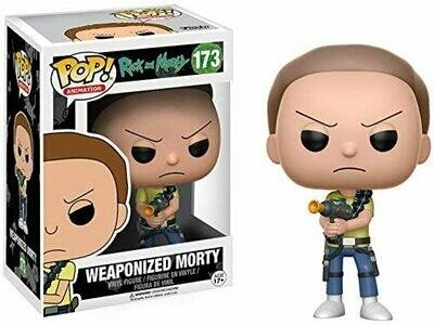 Funko Pop! Weaponized Morty - Rick y Morty