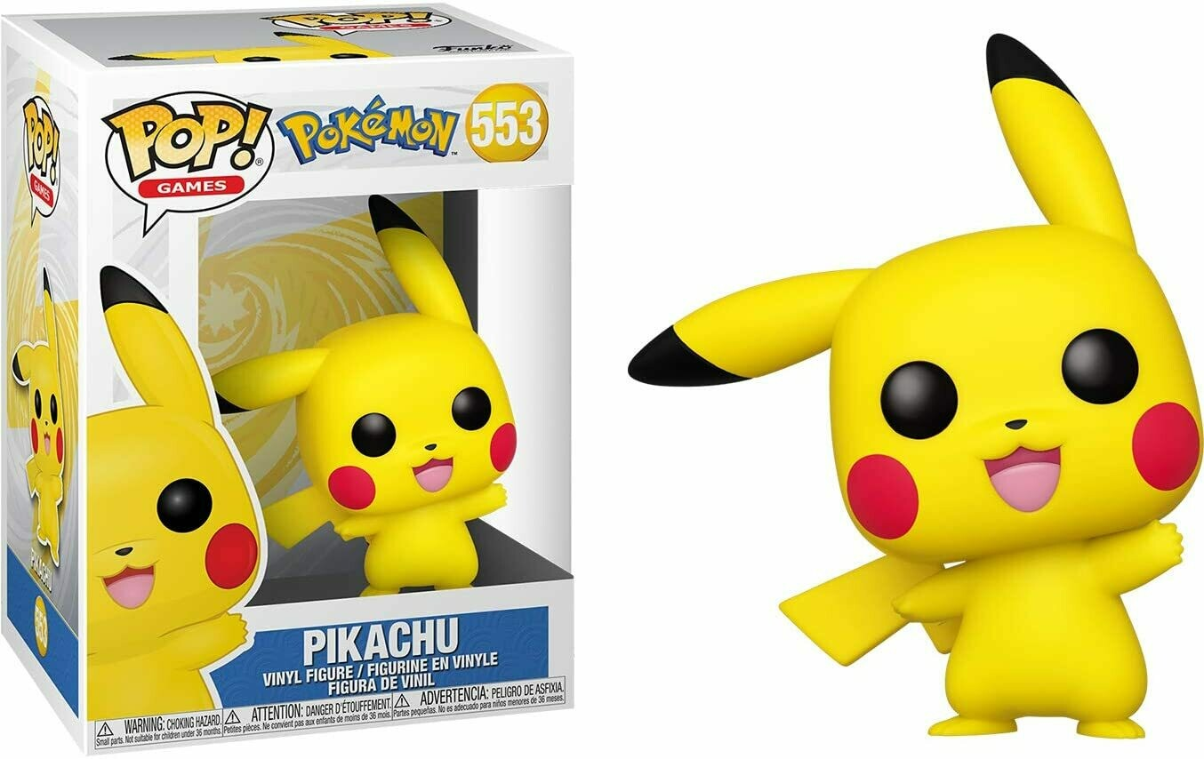 Funko Pop! Pokemon Pikachu #553