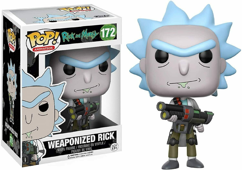 Funko Pop! Weaponized Rick - Rick y Morty