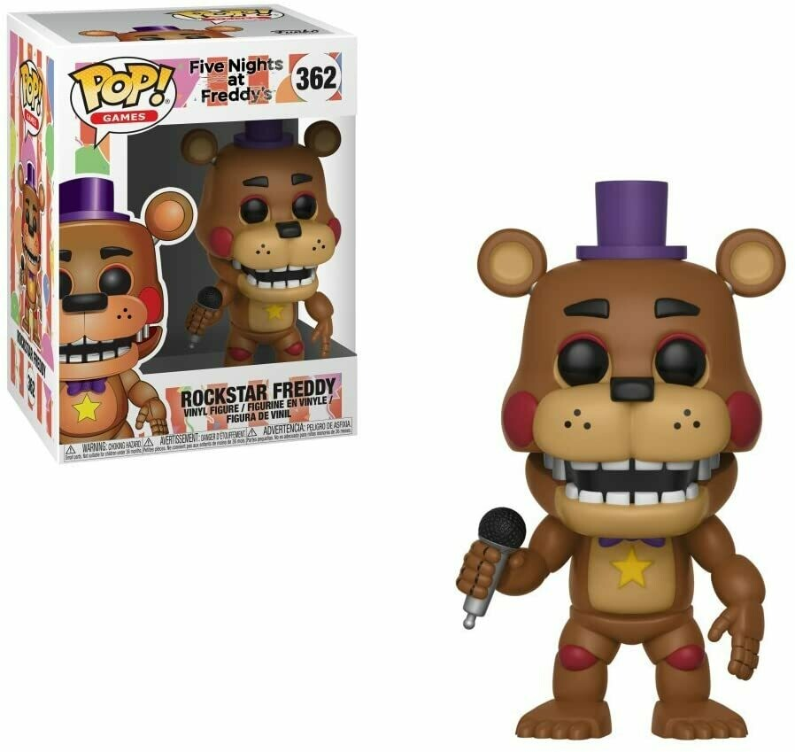 Funko Pop! Rockstar Freddy Five Nights at Freddy's