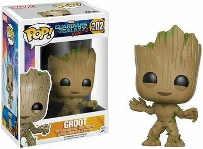 Funko Pop! Marvel: Groot #202 Guardianes de la Galaxia