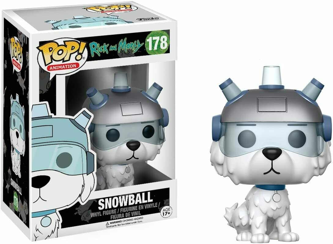 Funko Pop! Snowball - Rick y Morty