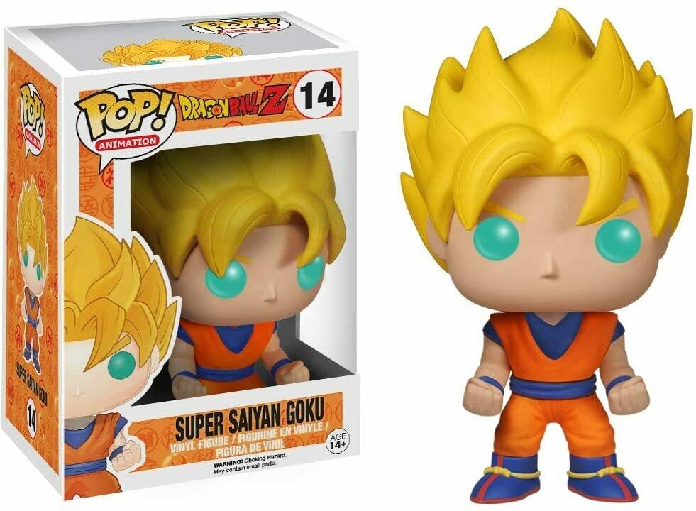 Funko Pop Goku Super Sayayin Dragon Ball Caja c Detalle