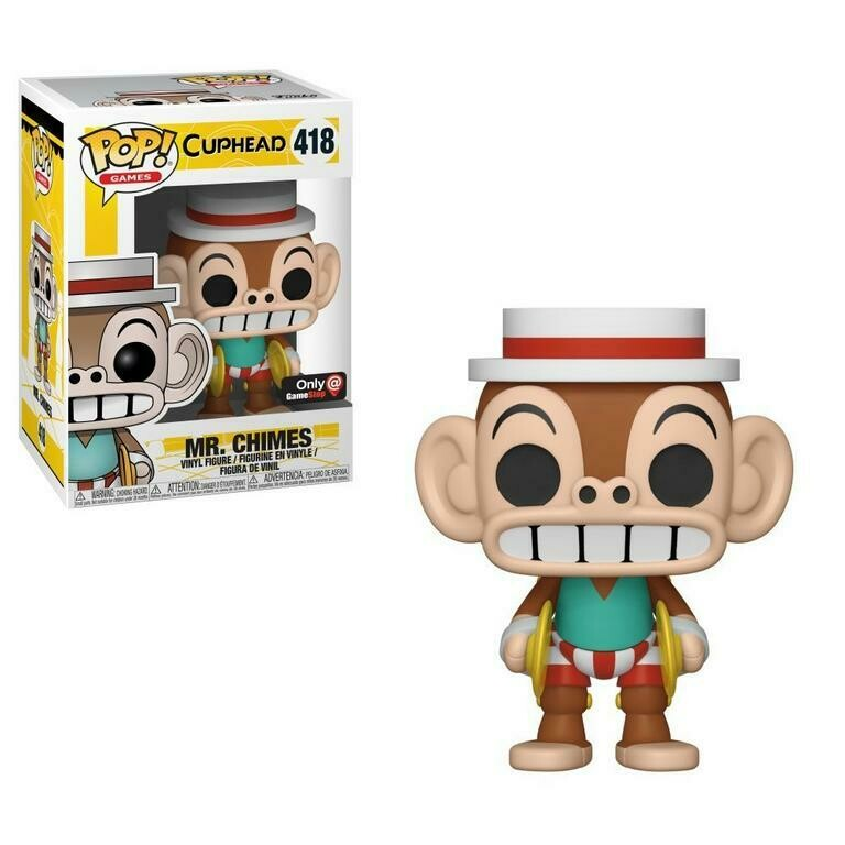 Funko Pop! Mr. Chimes Cuphead Exclusivo