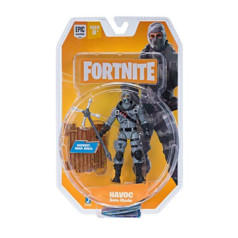 Figura Articulada Havoc Solo Mode Fortnite