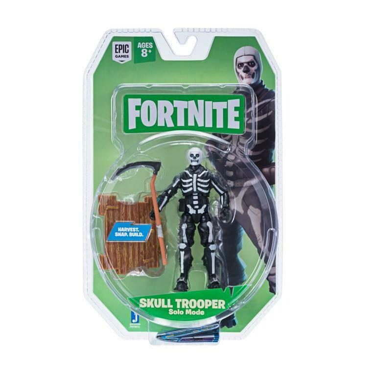Figura Articulada Skull Trooper Solo Mode Fortnite