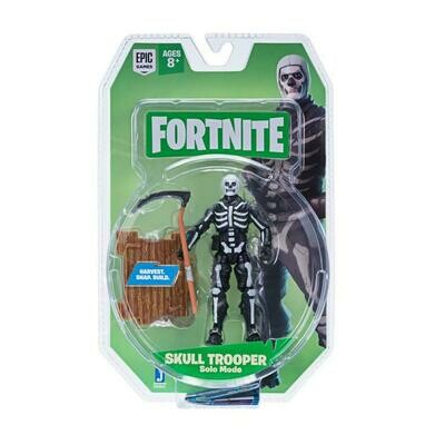 Figura Articulada Skull Trooper Solo Mode Fortnite