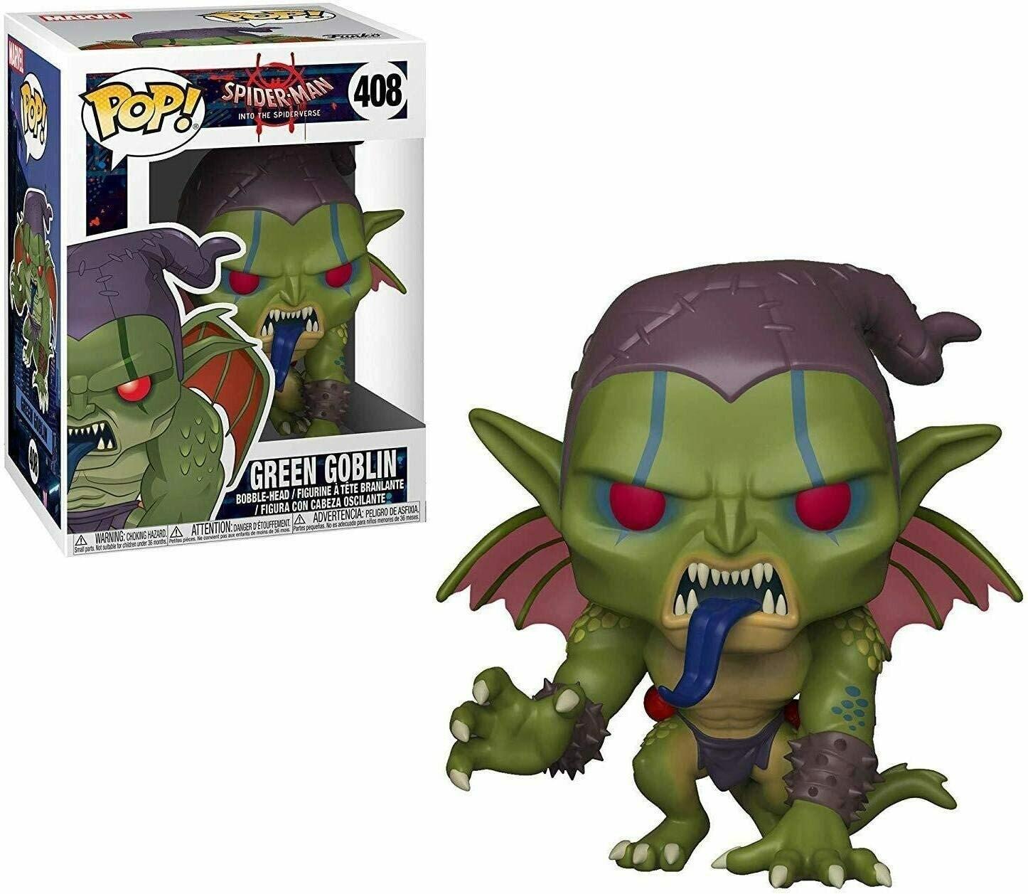Funko Pop! Marvel: Duende Verde Spider Man