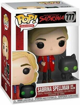 Funko Pop! Sabrina Spellman con Salem