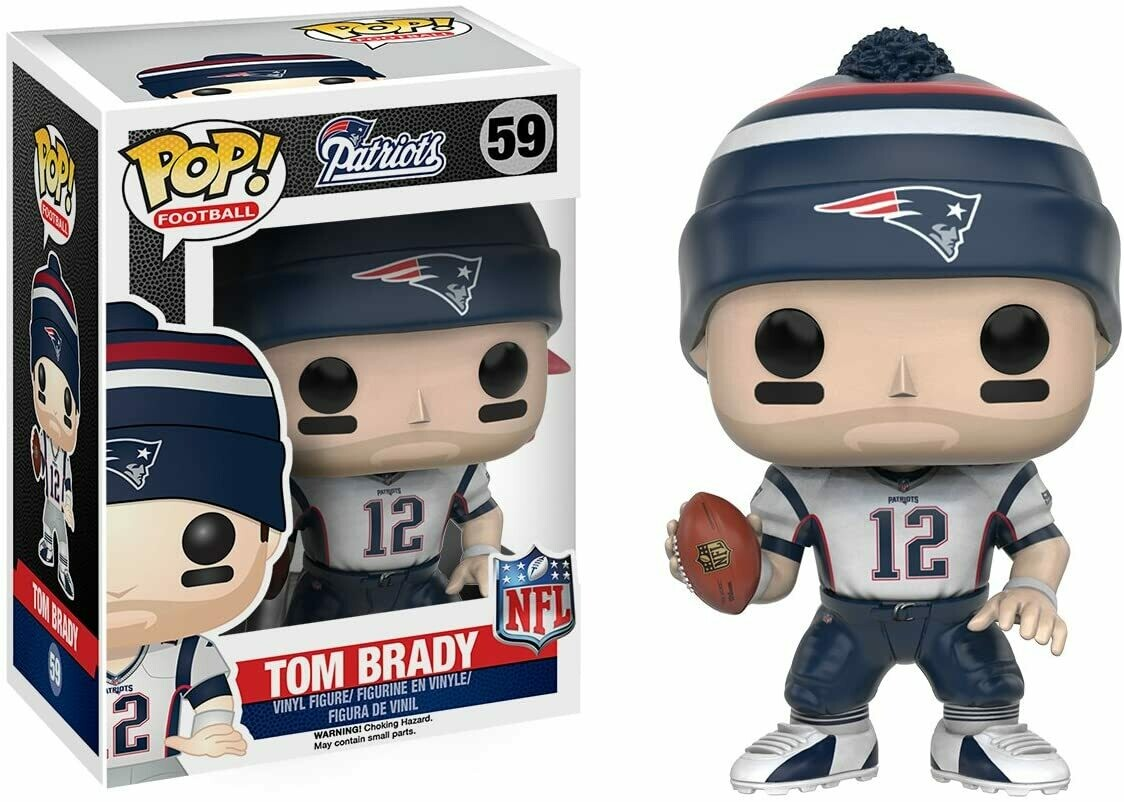 Funko Pop! Tom Brady #59 Patriots