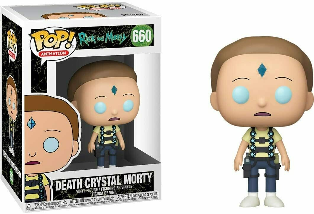 Funko Pop! Death Crystal Morty #660 - Rick & Morty