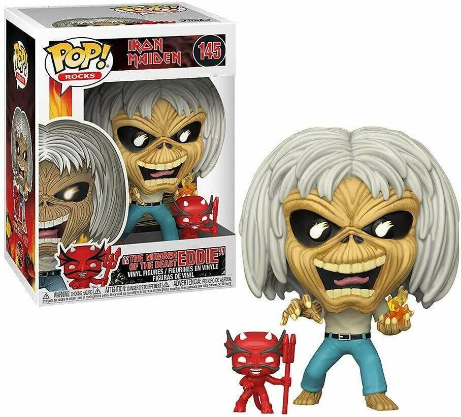 Funko Pop! Iron Maiden Eddie The Number of The Beast