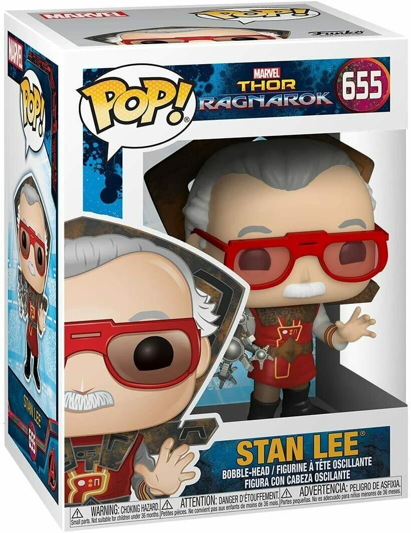Funko Pop! Marvel: Stan Lee - Thor Ragnarok