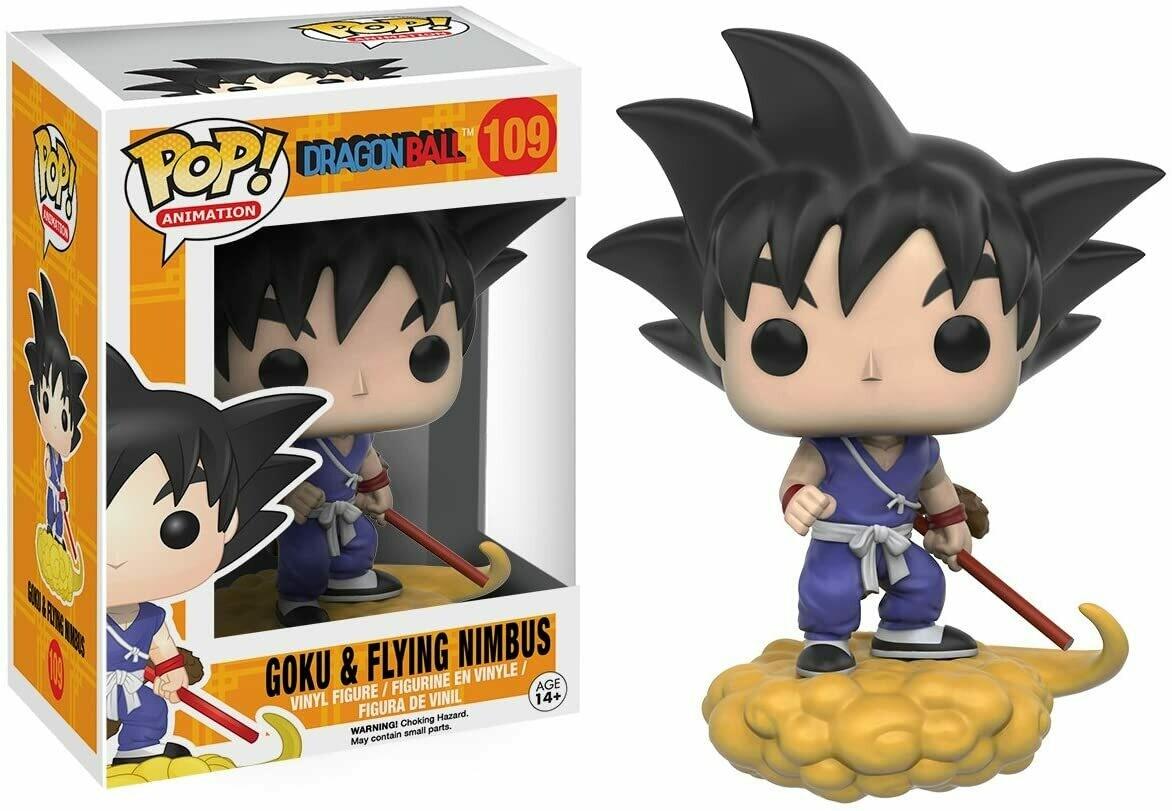 Funko Pop! Goku en Nube Voladora #109 - Dragon Ball