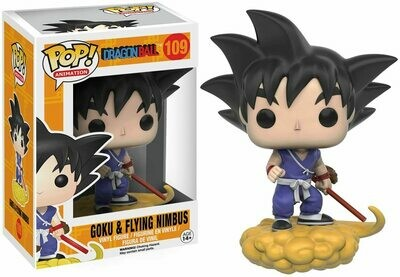 Funko Pop! Goku en Nube Voladora #109 - Dragon Ball