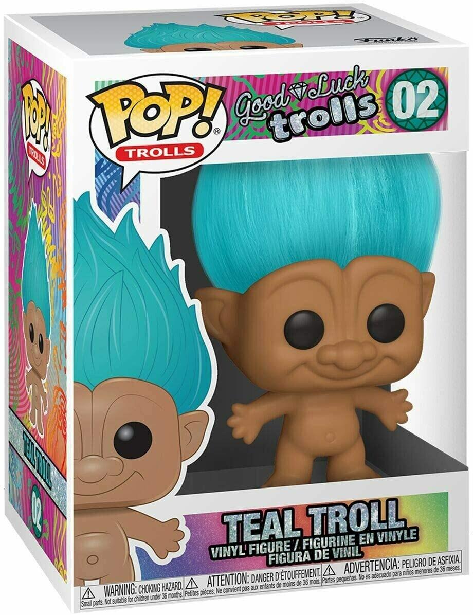 Funko Pop! Troll Verde Azulado #02