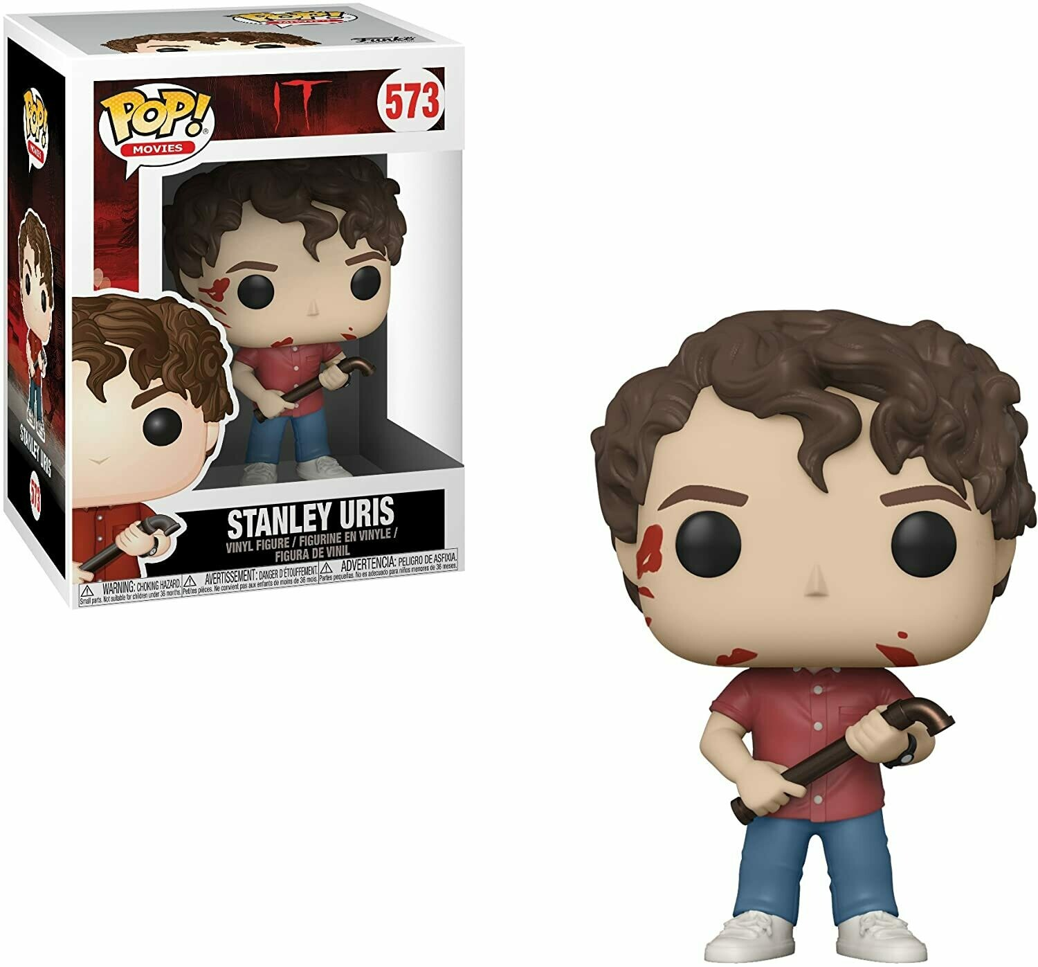 Funko Pop! Stanley Uris - It Pennywise
