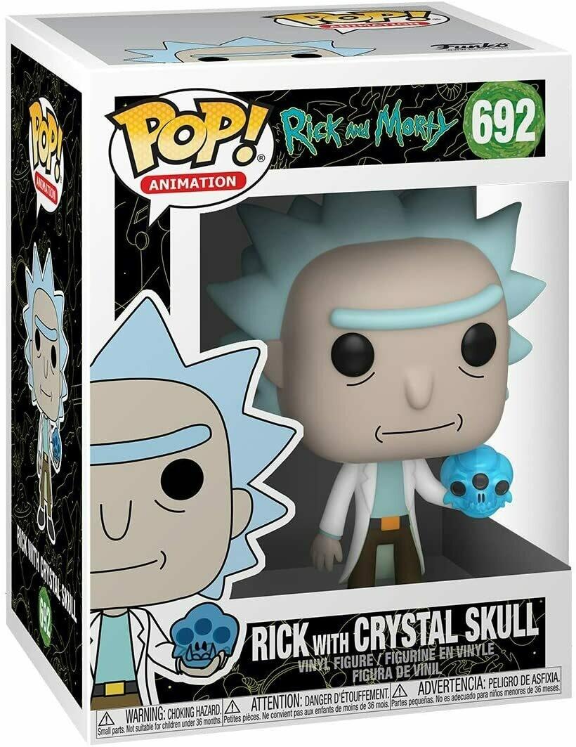 Funko Pop! Rick con Crystal Skull - Rick y Morty