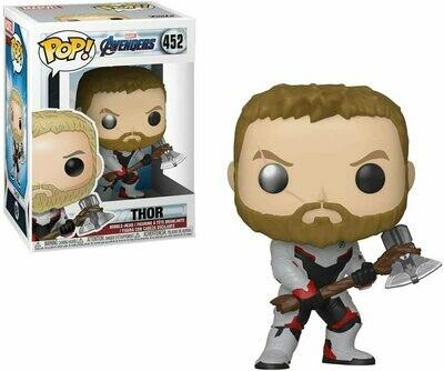 Funko Pop! Marvel: Thor Avengers Endga - Caja c Detalle