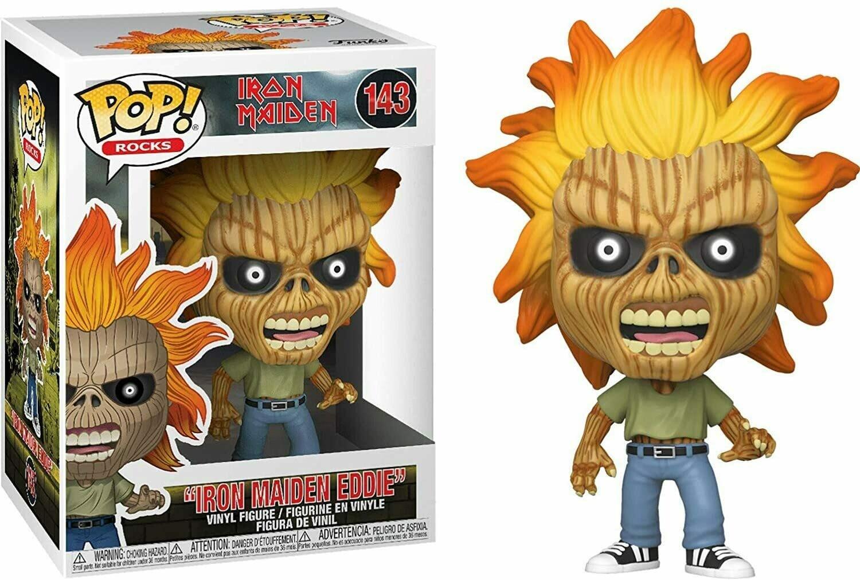 Funko Pop! Iron Maiden Eddie [Caja con Detalle]
