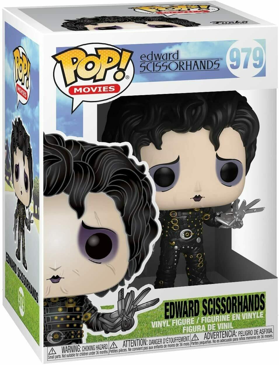 Funko Pop! Edward el Joven manos de Tijera #979