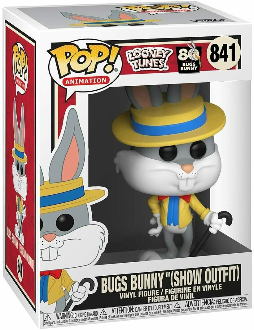 Funko Pop! Bugs Bunny (Show Outfit) - Looney Tunes