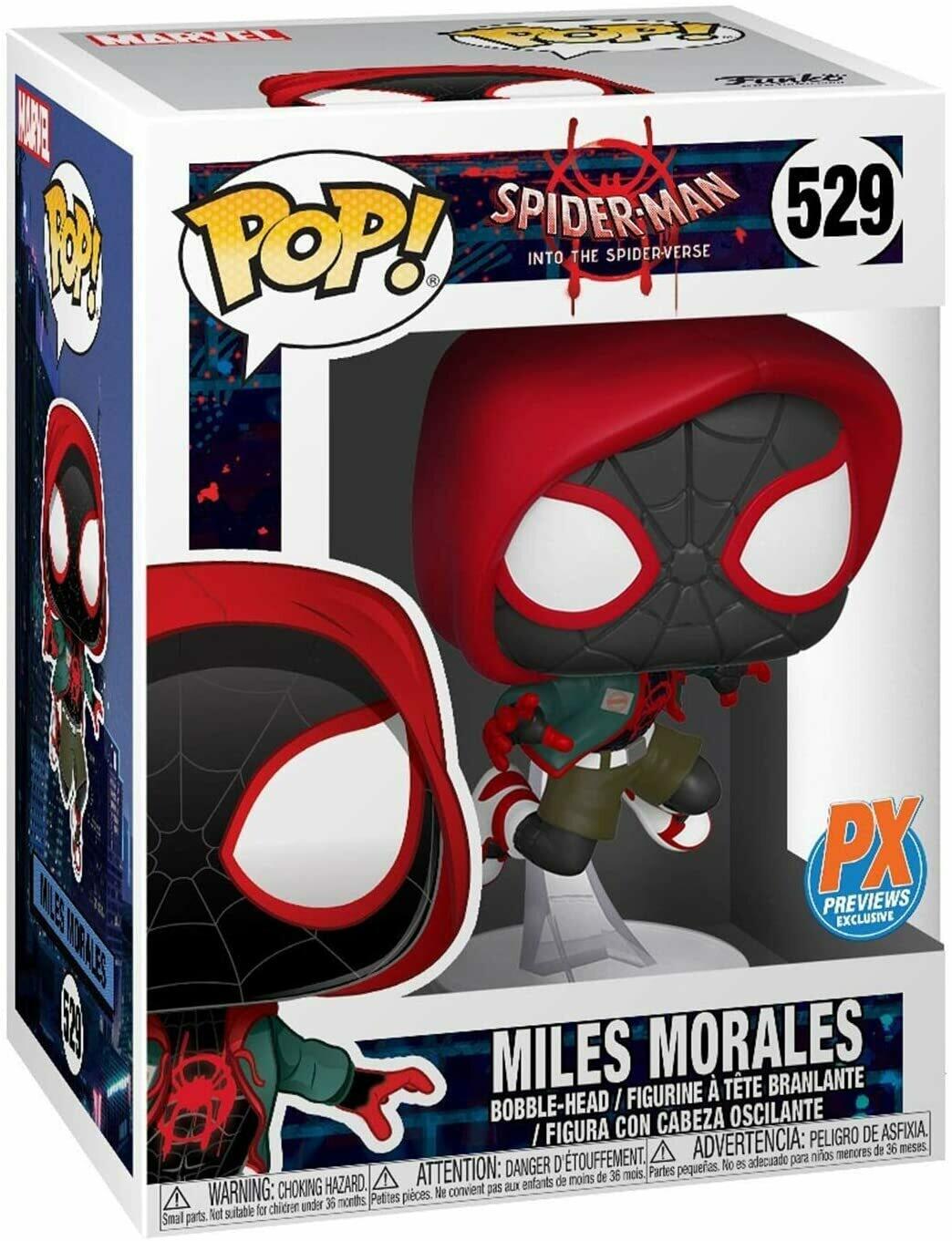 Funko Pop! Marvel: Miles Morales Previews Exclusivo