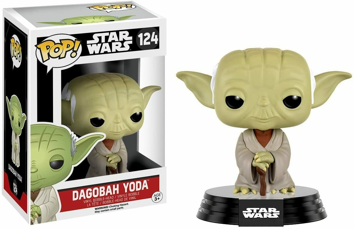 Funko Pop! Dagobah Yoda Star Wars